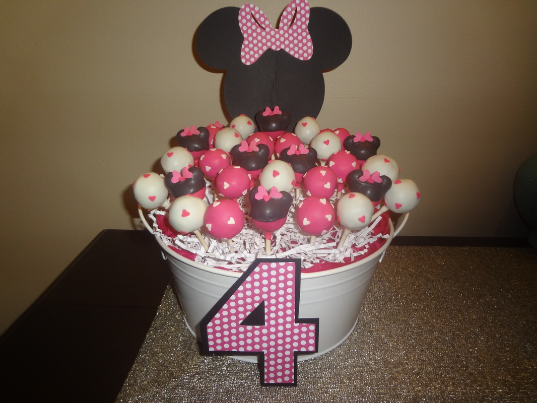 Minnie Mouse 1st Birthday Centerpieces Minnie Mouse Centerpiece For a